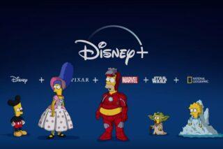 Les Simpson sur Disney +